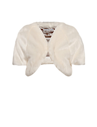 Faux Fur Shrug (1-7 Years) Clothing