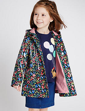 Floral Print Raincoat with Stormwear (3 Months - 5 Years)