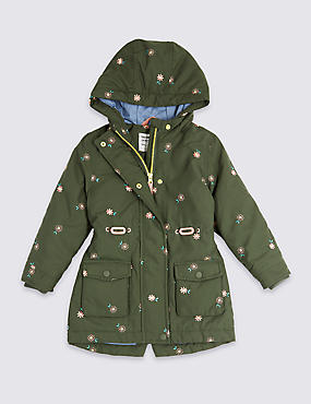 Embroidered Parka Coat (3 Months - 7 Years)