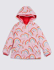 3 in 1 Rainbow Hooded Mac (3 Months - 7 Years)