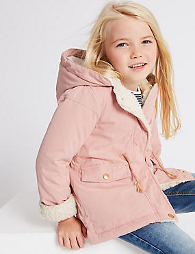 Cotton Blend Parka with Stormwear™ (3 Months - 7 Years)