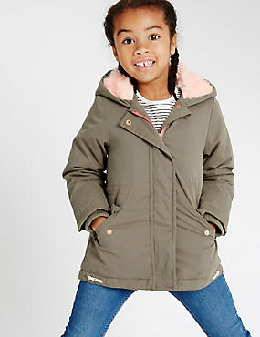 Hooded Pretty Parka Coat with Stormwear™ (1-7 Years)
