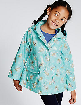 Disney Frozen Hooded Mac (1-7 Years)