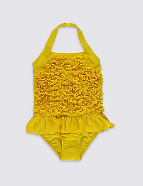 Flower Swimsuit with Lycra® Xtra Life™ (0-5 Years)