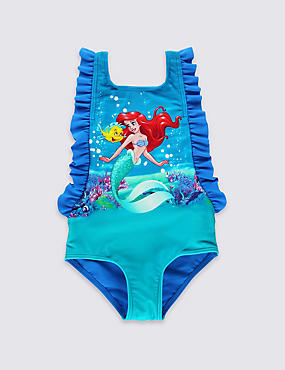Disney Princess Ariel Swimsuit with Lycra® Xtra Life™ (0-5 Years)