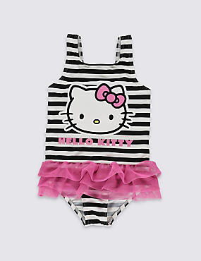Lycra® Xtra Life™ Hello Kitty Striped Swimsuit (1-7 Years)