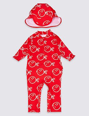 2 Piece Printed Swim Outfit with Lycra® Xtra Life™ (0-5 Years)