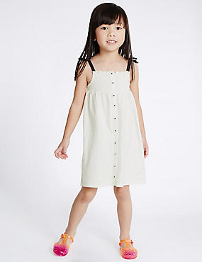 2 Pack Pure Cotton Dress (1- 5 Years)