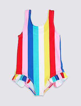 Swimsuit with Lycra® Xtra Life™ (3 Months - 7 Years), MULTI, catlanding
