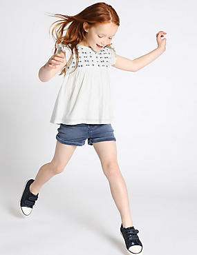 2 Piece Cotton Rich Top & Shorts Outfit (1-7 Years)