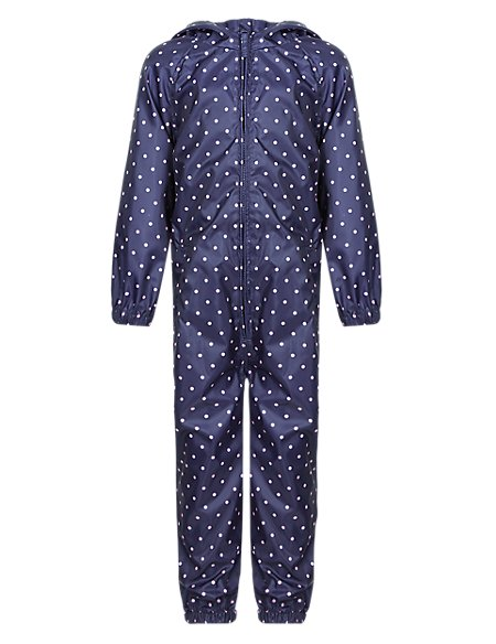 Hooded Spotted Puddle Suit with Stormwear™ (1-7 Years)
