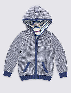 Pure Cotton Knitted Sweatshirt (3 Months - 5 Years)