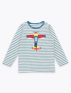 Aeroplane Applique Top (3 Months - 5 Years)