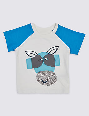 Pure Cotton Applique Baby T-Shirt