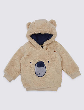 Novelty Fleece Hooded Top