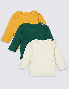 3 Pack Long Sleeve T-Shirts
