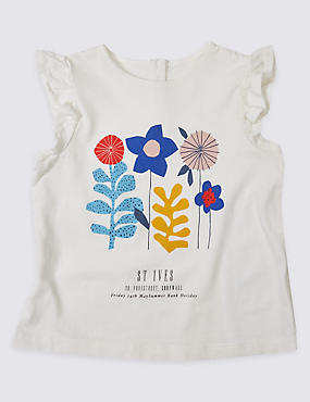 Pure Cotton Applique Top