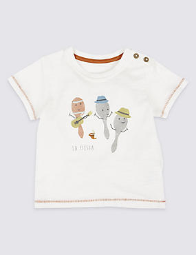 Pure Cotton Maracas T-Shirt