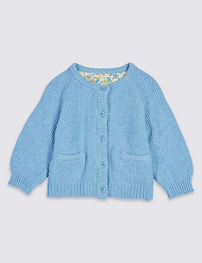 Pure Cotton Baby Cardigan