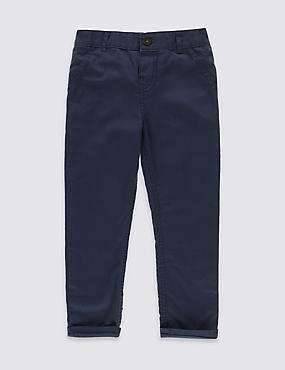 Pure Cotton Chinos (3 Months - 5 Years)