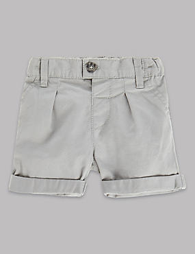 Pure Cotton Tailored Short