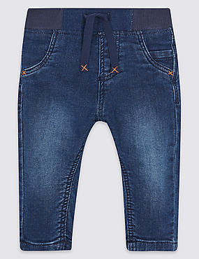 Cotton Jeans with Stretch