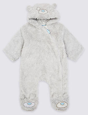 Novelty Pramsuit, GREY MARL, catlanding