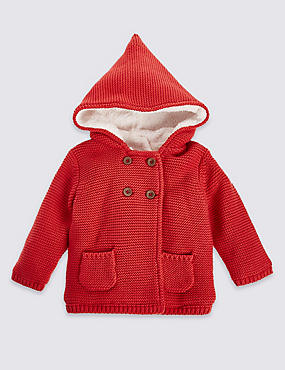 Pure Cotton Hooded Top
