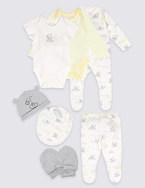 7 Piece Unisex Pure Cotton Outfit
