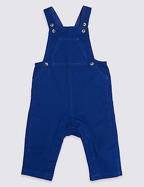 Cotton Rich Twill Dungarees