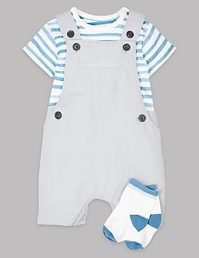 3 Piece Bodysuit & Bib Shorts with Socks, LIGHT STONE, catlanding