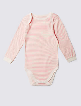 Pure Cotton Long Sleeve Bodysuit (3-8 Years)