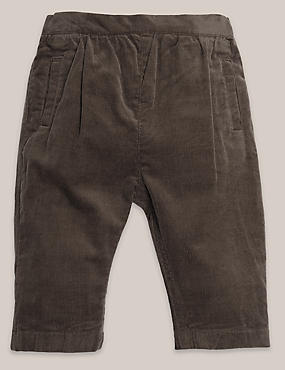 Boys Soft Cord Trousers (3 Months - 5 Years)