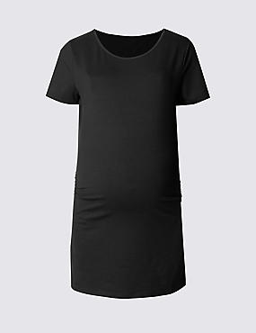 Maternity Short Sleeve T-Shirt with Modal