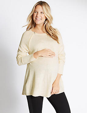 Maternity Feeding Knit Jumper