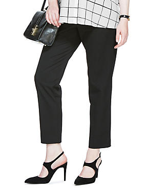 Maternity Pull On 7/8 Trousers