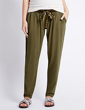 Maternity Tapered Leg Trousers