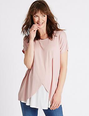 Maternity Cross Feeding Jersey Top