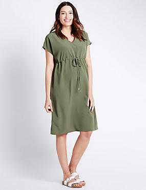 Maternity Woven Dress