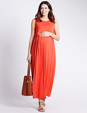 Maternity Feeding Maxi Dress