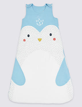 Pure Cotton Tog 2.1 Penguin Sleeping Bag, MULTI, catlanding