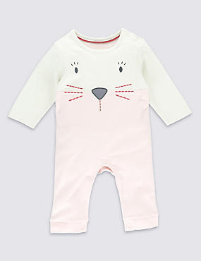 Pure Cotton Bunny All-in-One