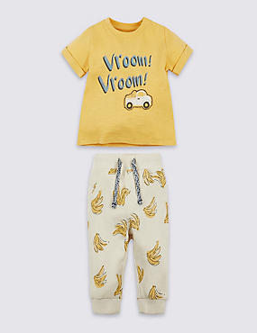 2 Piece Pure Cotton Printed Outfit