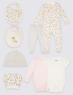 8 Piece Pure Cotton Outfit