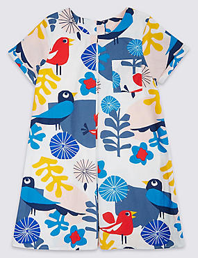 Pure Cotton Printed Dress