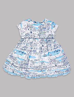 Pure Cotton Baby Dress