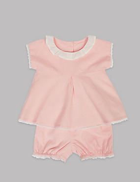2 Piece Top & Shorts Baby Outfit