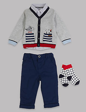 4 Piece Baby Outfit