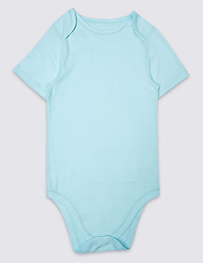 Pure Cotton Short Sleeve Bodysuit (3-16 Years)