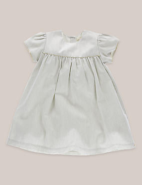 Girls Cotton Party Dress (3 Months - 5 Years)